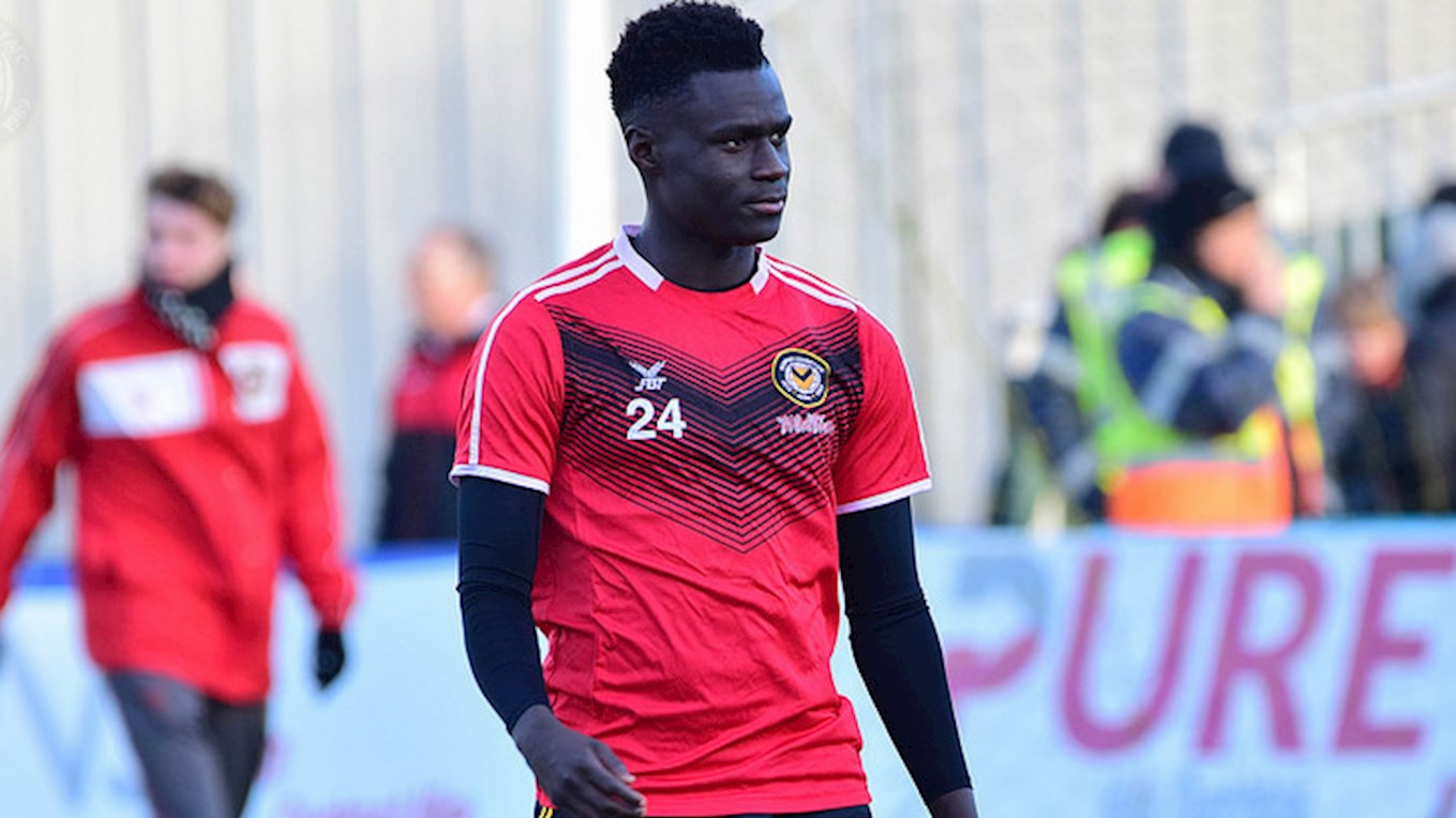 Momodou Touray Chosen as one of the LFE's 11 - News - Newport County