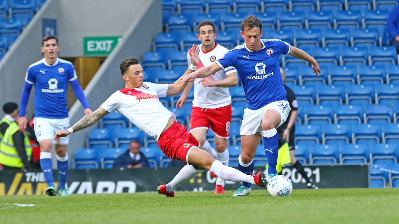 REPORT| Exiles edged out at Chesterfield - News - Newport County